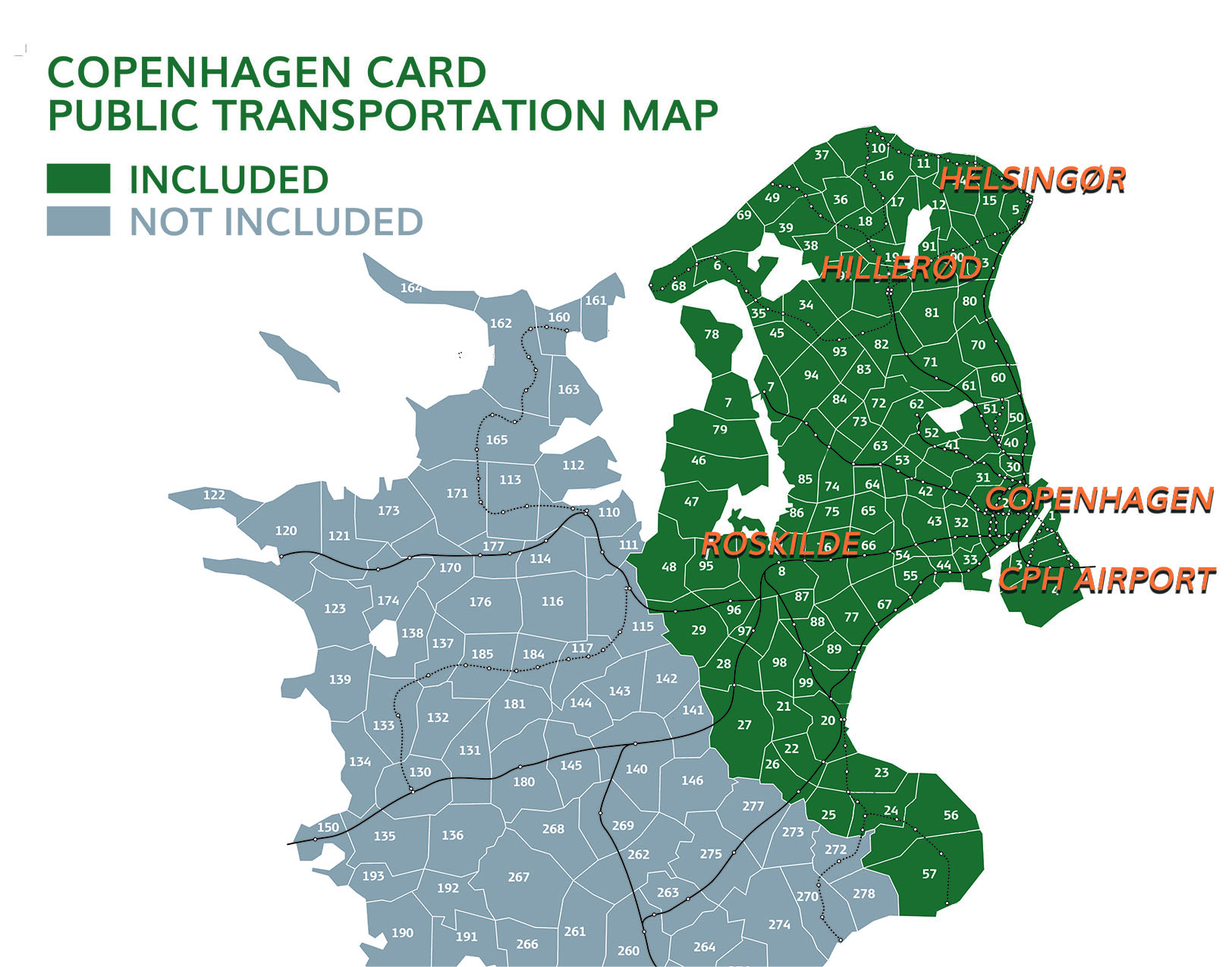 Public Transportation Copenhagen Card